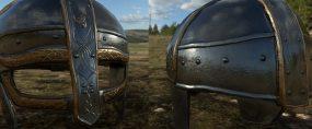 Game ready asset - Viking Helmet Alt. shot