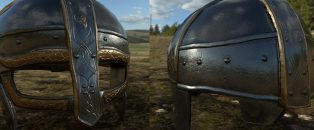 Game ready asset - Viking Helmet Alt. shot