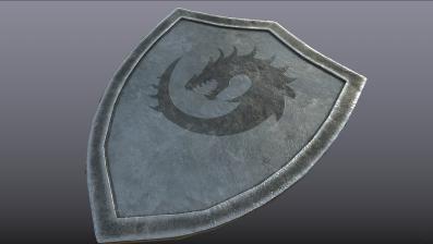 Steel Dragon Shield