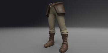 Male Viking Lower Armor