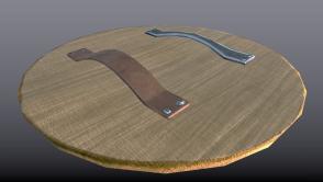 Wooden Shield Back