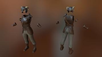 Female Viking Armor Set