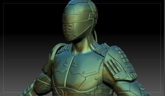 Cyborg Soldier - Upper Shot
