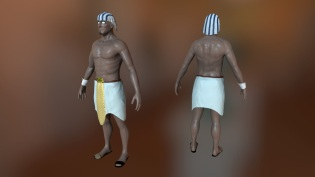 Created in Mudbox and Substance Painter.