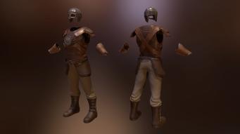 Full Armor Set - Created in Zbrush, Maya, Handplane, and Substance Painter.